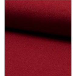 Tissu french terry rouge x 50cm