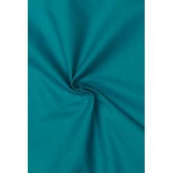 Coton uni bleu canard x 50cm