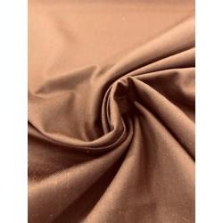 Tissu « Idéal » Chocolat x 50cm