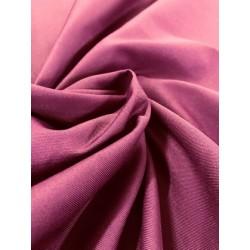Tissu « Idéal » Prune x 50cm