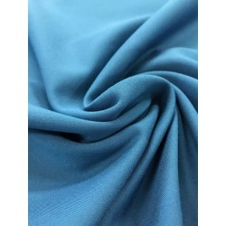Jersey Milano Bleu pétrol x 50cm