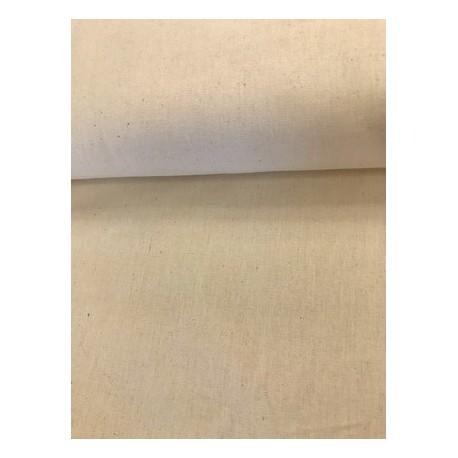 Coton uni écru x 50cm