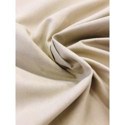 Coton uni beige foncé x 50cm