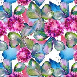 Fleurs aquarelle PM x 50cm