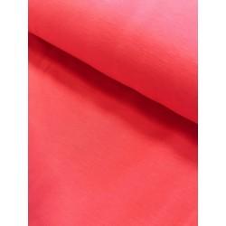 Jersey uni corail x 50cm