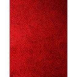 Feutrine rouge foncé x 50cm