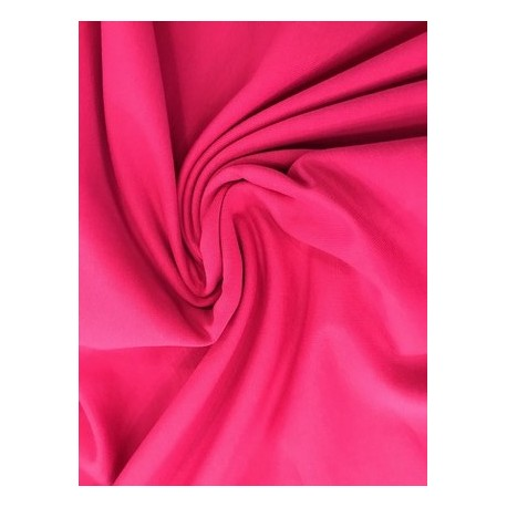 French terry fuchsia x 50cm