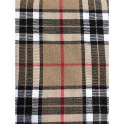 Tissu carreaux style burberry x 50cm