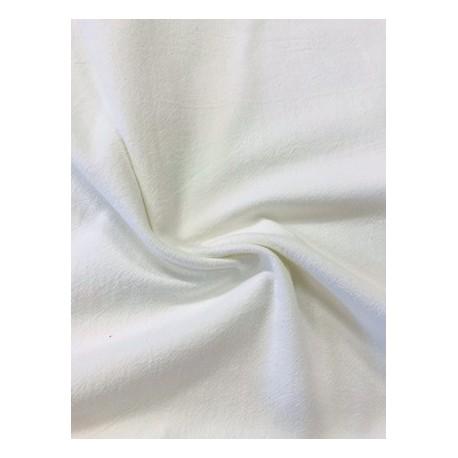 Tissu coton uni écru x 50cm