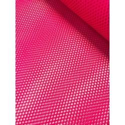 Tissu filet mesh rose fluo x 50cm