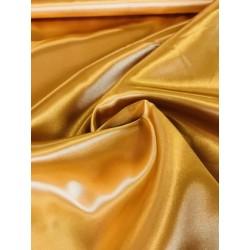 Tissu satin or x 50cm