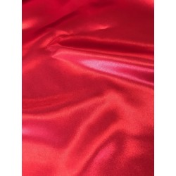 Tissu satin rouge foncé x 50cm