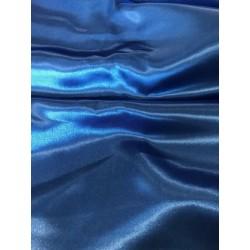 Tissu satin bleu roi x 50cm
