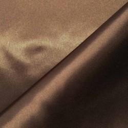 Tissu satin chocolat x 50cm