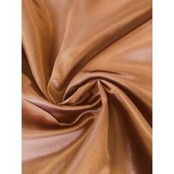 Tissu satin marron x 50cm