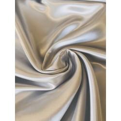 Tissu satin gris x 50cm