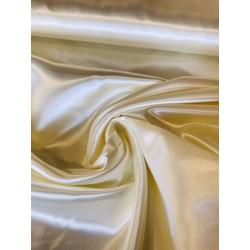 Tissu satin ivoire x 50cm