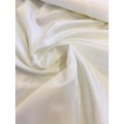 Doublure pongé de luxe blanc cassé x 50cm