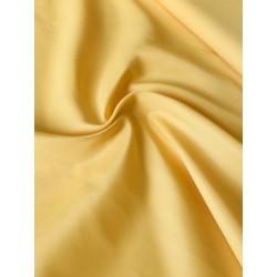Doublure antistatique jaune pâle x 50cm