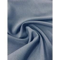 Tissu crêpe bleu marine x 50cm