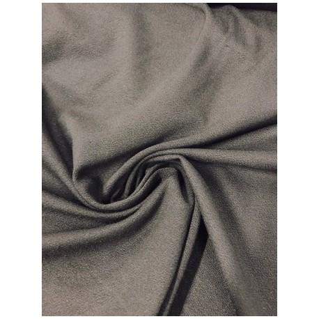 Tissu crêpe jersey noir x 50cm