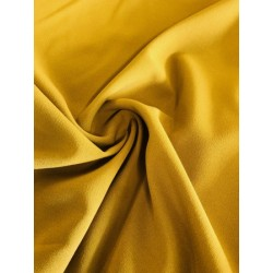Tissu crêpe ocre x 50cm