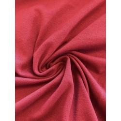 Tissu crêpe jersey bordeaux x 50cm
