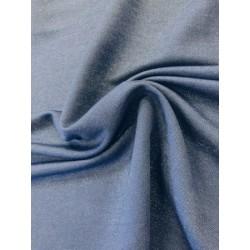 Viscose pailleté bleu marine x 50cm
