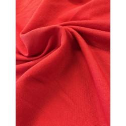 Viscose pailleté rouge x 50cm