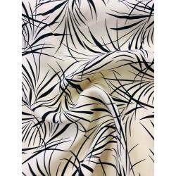Viscose exotique fond sable x 50cm