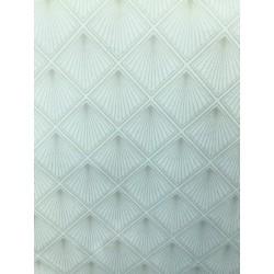 Velours graphique carré x 50cm