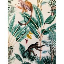 Velours tropical x 50cm