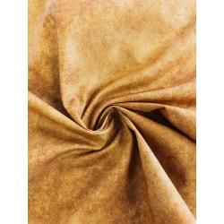 Tissu coton coloris ocre x 50cm