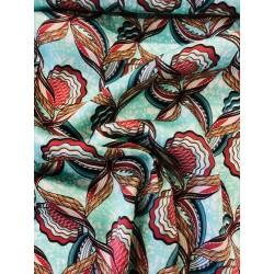 Tissu motif africain x 50cm