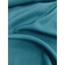 Viscose coloris bleu pétrol x 50cm