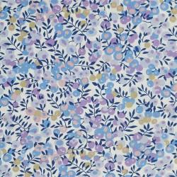 """Tissu liberty """"Wiltshire"""" bleu x 50cm"""