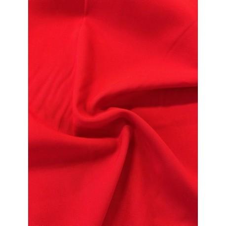 Viscose uni rouge x50cm