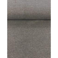 Bord côte côtelé gris x 50cm