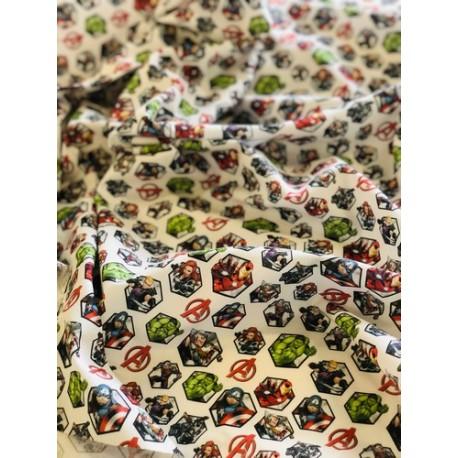 Tissu coton Avengers