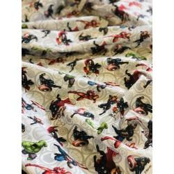 Tissu coton Avengers grand format x 50cm