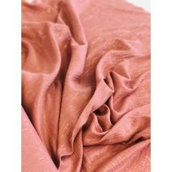 Double gaze de coton rose brillant x 50cm