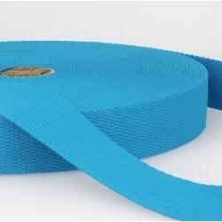 Sangle coton bleu acier 3cm