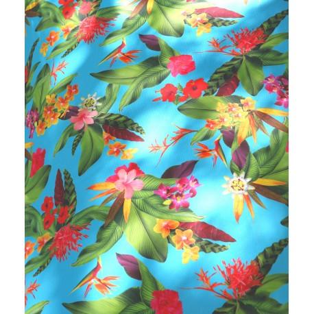 Toile extérieur floral x 50cm