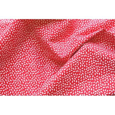 """Coton """"Stili"""" coloris rouge x 50cm"""