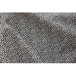 """Coton """"Stili"""" coloris noir x 50cm"""