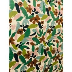 Tissu enduit exotique x 50cm
