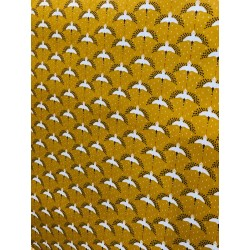 Tissu enduit oiseaux x 50cm