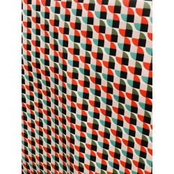 Tissu enduit vintage x 50cm