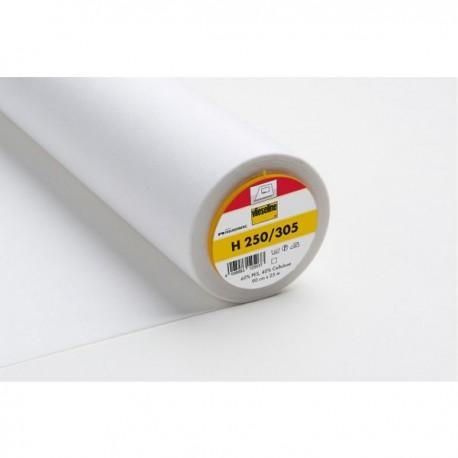 Entoilage H250 blanche x 50cm