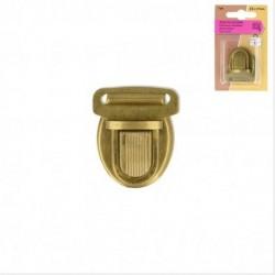 Attache cartable coloris bronze 32x37mm